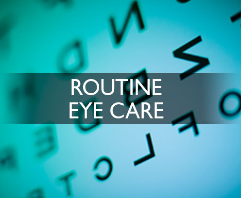 Routine Eye Care Cedar Rapids